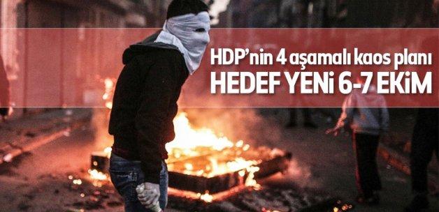 HDP'nin asıl hedefi yeni 6-7 Ekim