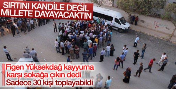 HDP'nin sokağa çıkın çağrısına halk ilgi göstermedi