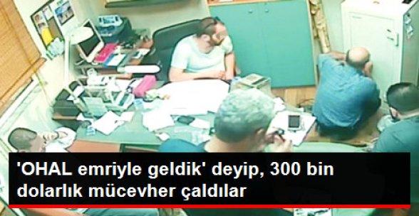 Hırsız Polis 'Oyunu'! 300 Bin Dolarlık Mücevher Çaldılar
