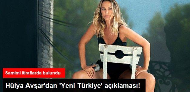Hülya Avşar'dan Yeni Türkiye Açıklaması: Asla Ümitsiz Değilim
