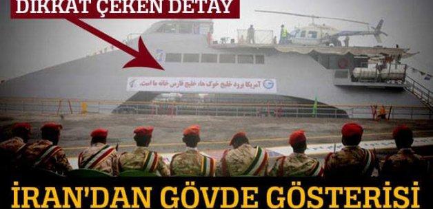 İran yüksek hızlı savaş gemisi yaptı