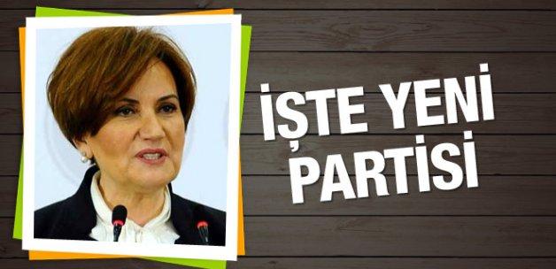 İşte Akşener'in yeni partisi!.