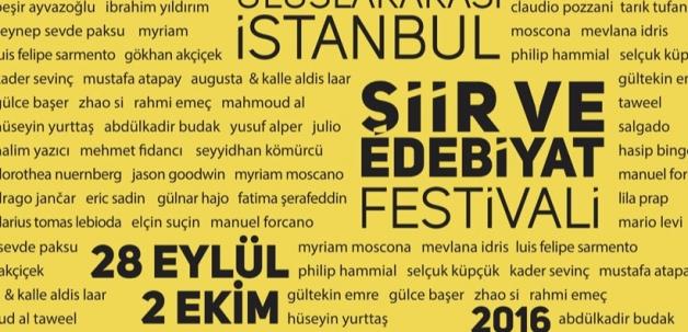IX. Uluslararası İstanbul Şiir ve Edebiyat Festivali başlıyor
