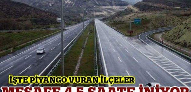 İzmir-Ankara arası 4.5 saate iniyor