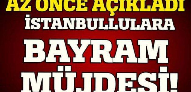 Kadir Topbaş'tan İstanbullulara bayram müjdesi!