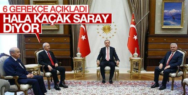 Kemal Kılıçdaroğlu'ndan 6 maddelik gerekçe