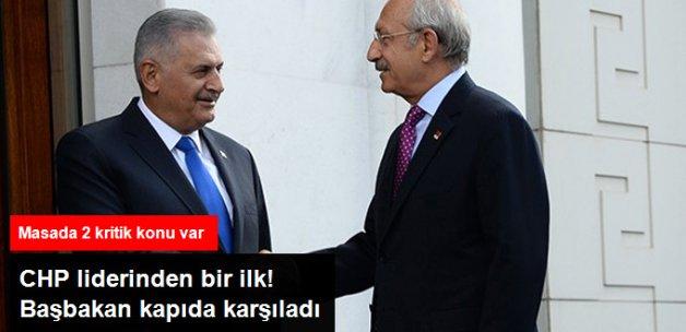 Kılıçdaroğlu İlk Kez AK Parti Genel Merkezi'nde! Masada 2 Kritik Konu Var