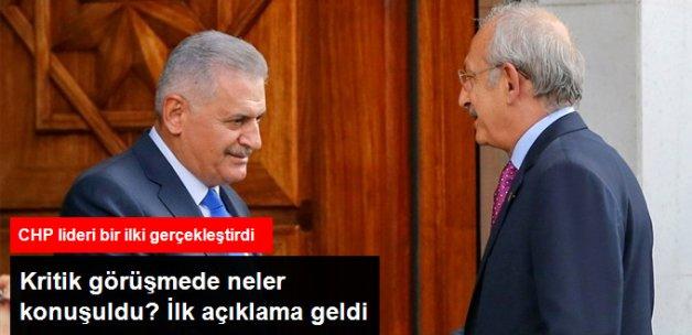 Kılıçdaroğlu İlk Kez AK Parti Genel Merkezi'ne Gitti, Başbakan'la Görüştü