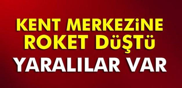 Kilis'e roket atıldı: Yaralılar var!