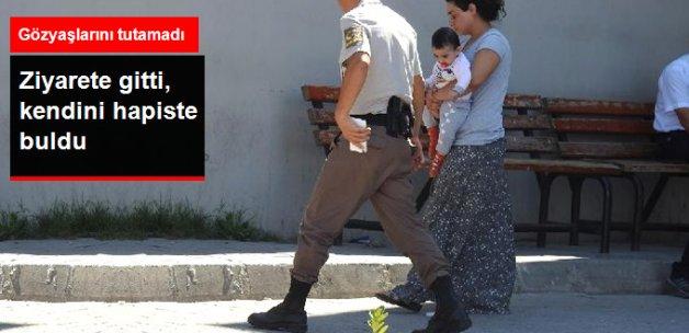 Mahkum Ziyaretine Giden Genç Kadın Cezaevine Gönderildi