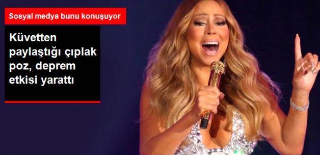 Mariah Carey, Küvet Pozlarıyla Sosyal Medyayı Salladı