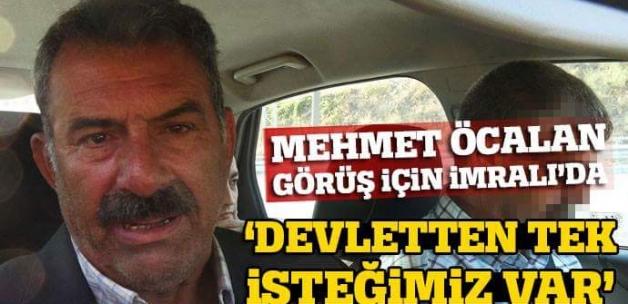 Mehmet Öcalan, görüş için İmralı Adası'na gitti