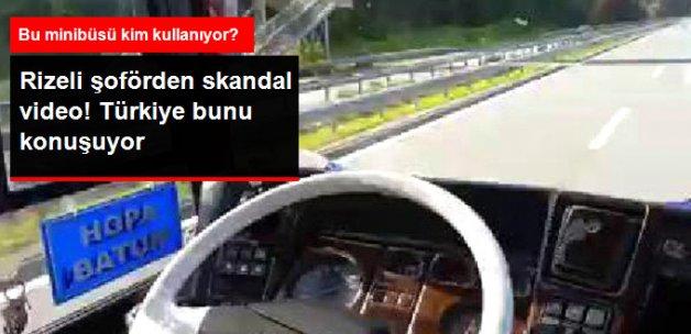 Midibüs Şoförü Koltuğundan Kalktı, Görüntüleri Paylaştı!