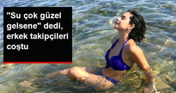 Nesrin Cavadzade Denizden Fotoğraf Attı, Takipçileri Coştu