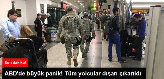New York'taki La Guardia Havalimanında 'Bomba' Paniği