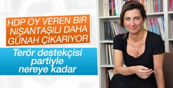 Nuray Mert çark etti: HDP'yle nereye kadar