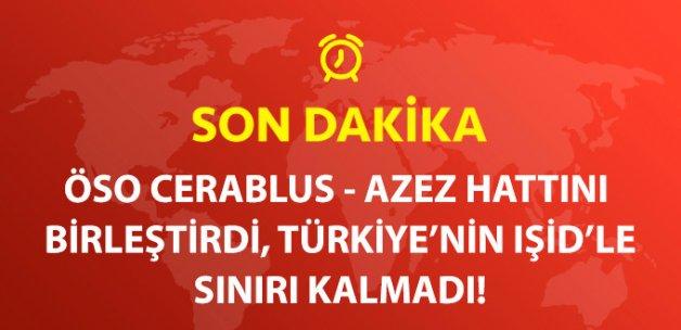 ÖSO, Azez - Cerablus Hattını Birleştirdi!