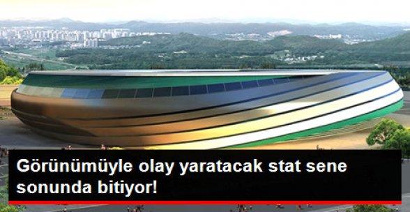 Pişmaniye Görünümlü Kocaeli Arena Yıl Sonunda Açılacak