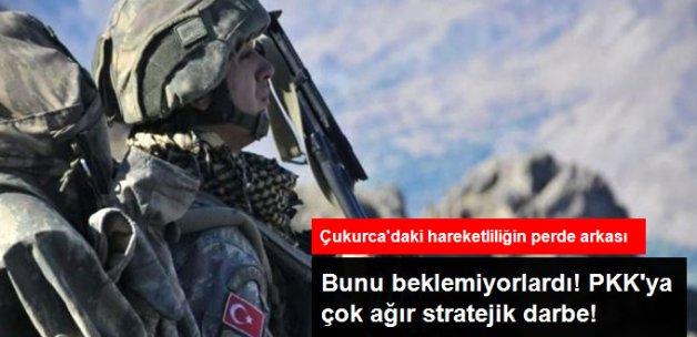 PKK'lı Teröristler Hiç Beklemediği Anda Karadan ve Havadan Baskın Yedi