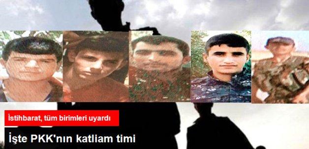 PKK'nın 5 Kişilik Katliam Timi Ortaya Çıktı