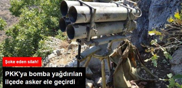 PKK'nın Şaşırtan Silahı! Çukurca'da ÇNRA Ele Geçirildi