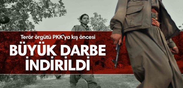 PKK'ya büyük darbe indirildi