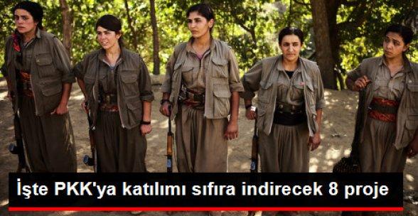 PKK'ya Katılımı 'Sıfır'a İndirilecek 8 Proje