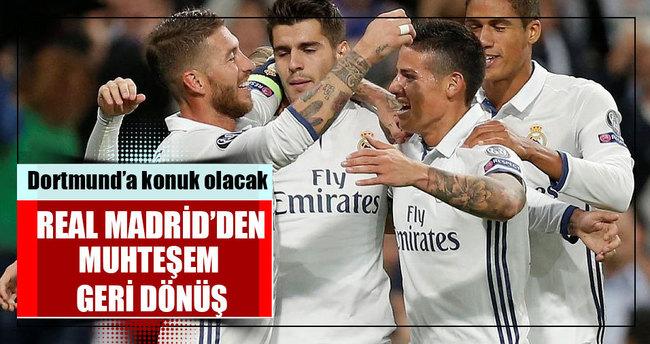 Real Madrid'den muhteşem geri dönüş