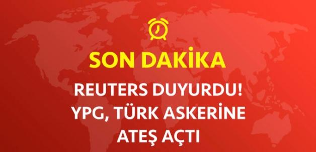 Reuters: YPG Sınır Karakoluna Ateş Açtı