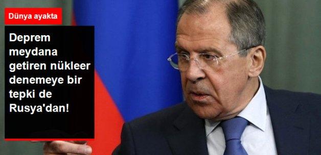 Rusya: Kuzey Kore'nin Nükleer Denemesinden Endişe Duyuyoruz