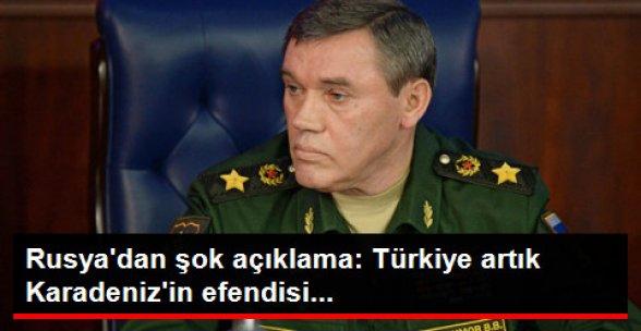 Rusya: Türkiye Artık Karadeniz'in Efendisi Değil
