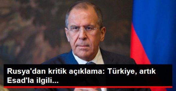 Rusya: Türkiye Esad'a Ültimatom Vermeyi Bırakıyor