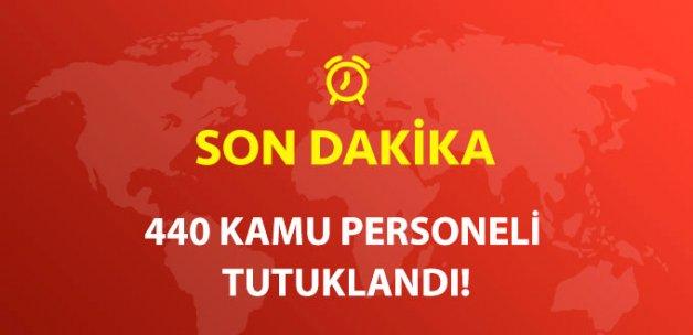 Samsun'da 440 Kamu Personeli Tutuklandı