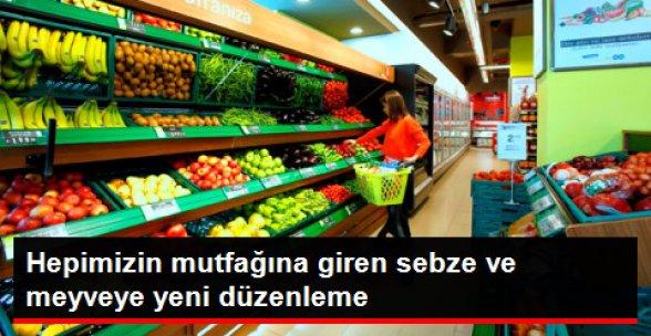 """Sebze ve Meyve Ticaretinde """"Künye"""" Düzenlemesi"""