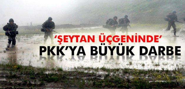 'Şeytan üçgeninde' PKK'ya büyük darbe
