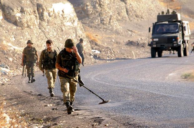 Siirt'te askeri konvoyun geçişi sırasında patlama