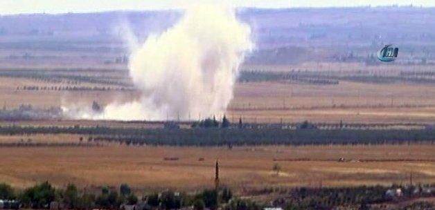 Sınırın sıfır noktasında şiddetli patlama!