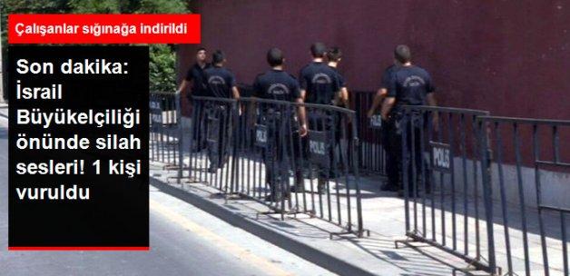 Son Dakika! İsrail Büyükelçiliği Önünde Silah Sesleri!