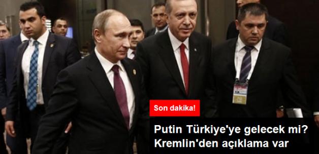 Son Dakika! Kremlin Açıkladı: Putin Ekimde Türkiye'yi Ziyaret Edebilir