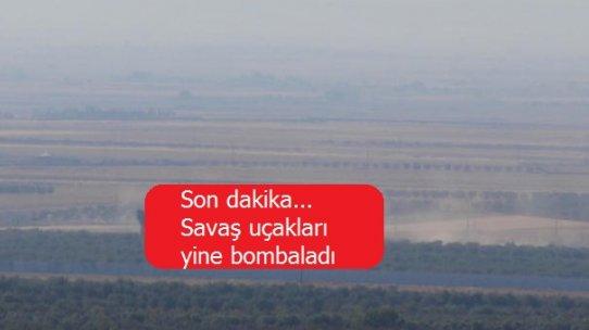Son dakika... Savaş uçakları yine bombaladı