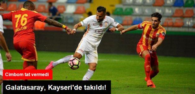 Süper Lig'de Galatasaray, Kayserispor ile 1-1 Berabere Kaldı