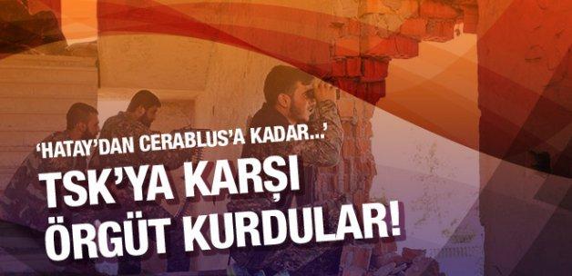 Suriye'de Türkiye'ye karşı örgüt kuruldu!