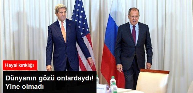 Suriye'de Yine Anlaşma Yok!