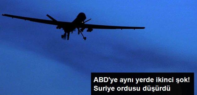 Suriye Ordusu ABD'ye Ait İHA Düşürdü!