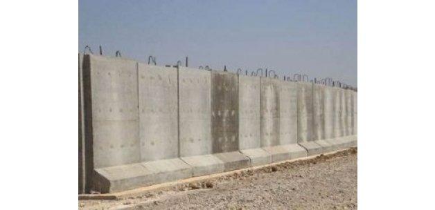 Suriye sınırına 911 kilometrelik güvenlik duvarı