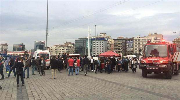 Taksim Metro İstasyonu intihar girişimi nedeniyle kapatıldı