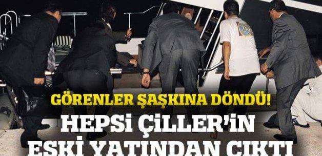 Tansu Çiller'in eski yatından 134 kaçak göçmen çıktı