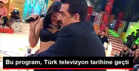 Tatlıses'in Türk Televizyon Tarihine Geçen Programı