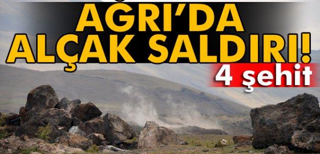 Tendürek Dağı'nda çatışma: 4 şehit