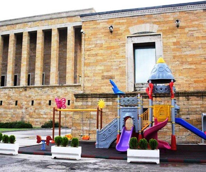 Tepkiler büyüyor; Baro'dan Anıtkabir'e çocuk parkı tepkisi